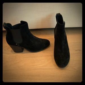 Rag & Bone Suede Booties with Heel